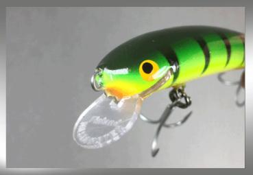 Nils Master INVINCIBLE Floating Wobbler, Größe: 12 cm, Sonderfarbe: 160 Green Tiger, Gewicht: 24 Gramm