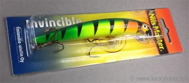 Nils Master INVINCIBLE Floating Wobbler, Größe: 12 cm, Farbe: 027 Orange Head Tiger, Gewicht: 24 Gramm
